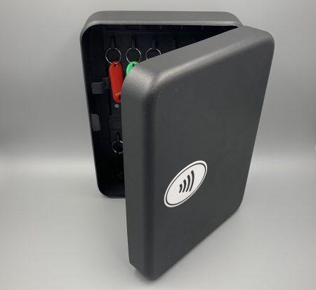 NFC Pass scanner on a locker